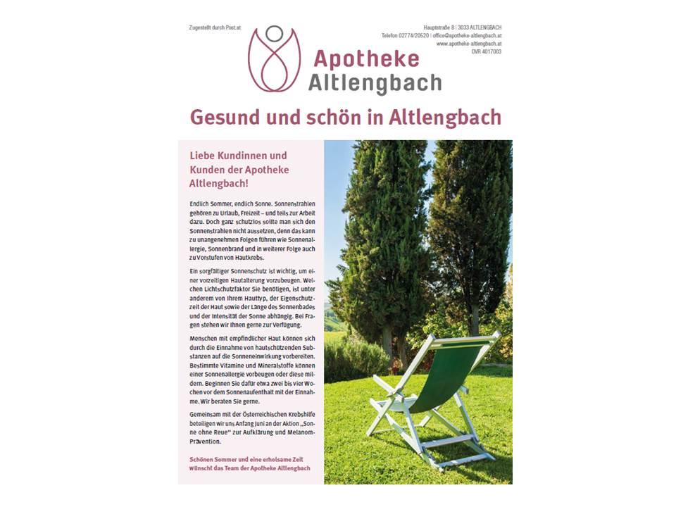 gefundene Veranstaltungen - Marktgemeinde Altlengbach